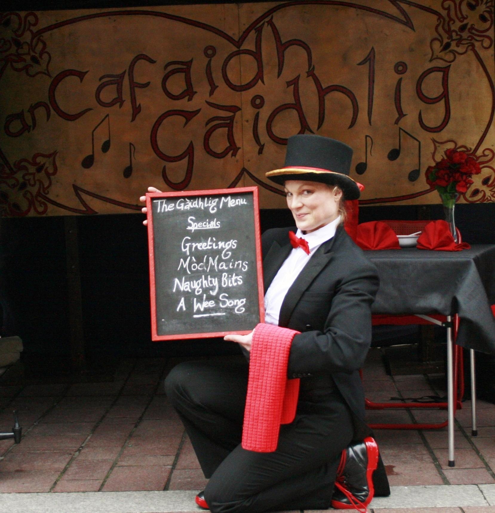 Pop Up Gaelic Caf